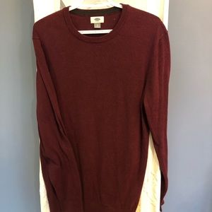 2/$30 Old navy burgundy sweater